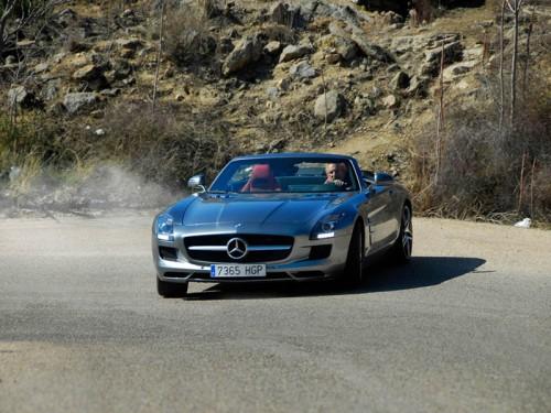 Prueba Mercedes SLS AMG Roadster