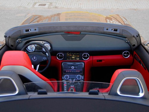 Mercedes SLS Roadster AMG 59