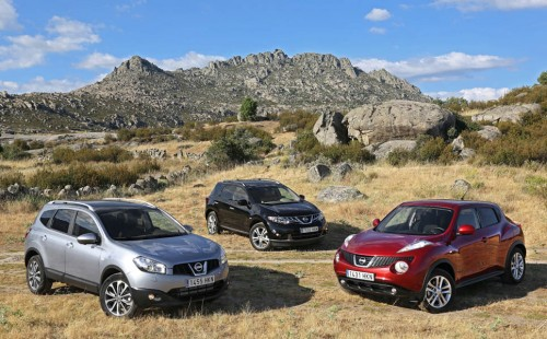 Gama Nissan Crossover 4×4