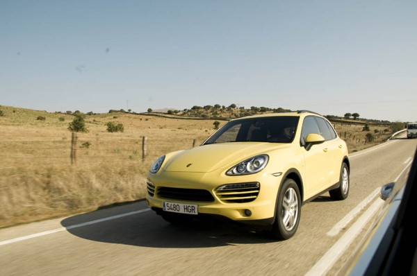 Prueba-test de consumo al Porsche Cayenne Diesel