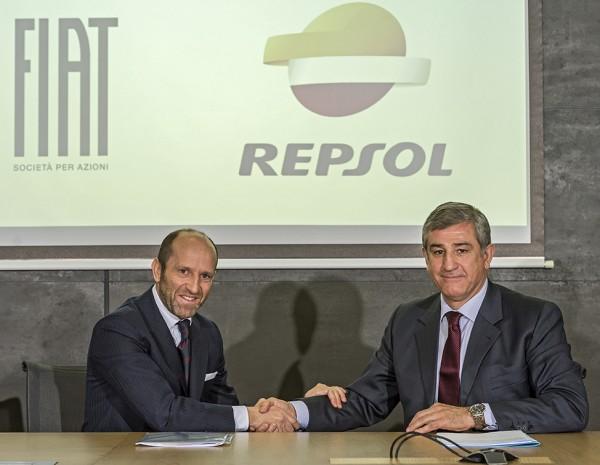 Repsol y Fiat se alían para impulsar el mercado de Autogas en España