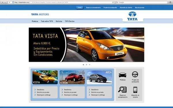 Pantallazo web Tata 2