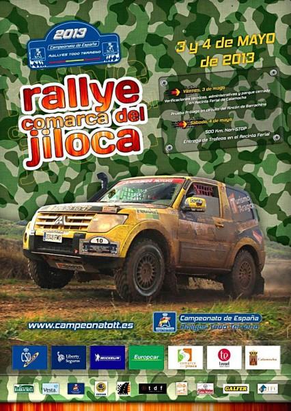 Rally Comarca del Jiloca. Participa en el Cto. de España de Rallys con el Desafío Kobe.
