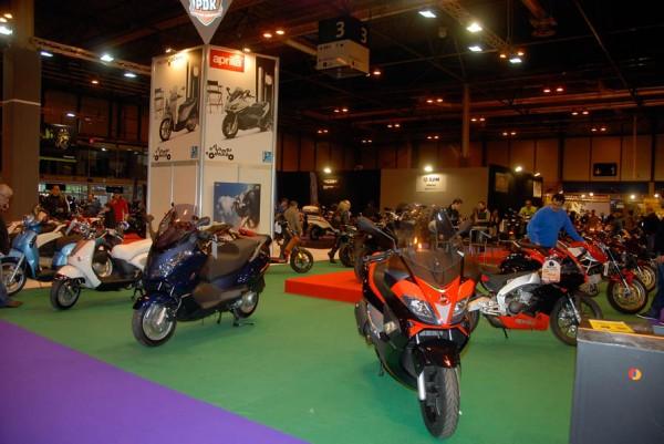 Salón Moto Madrid. Para grandes y pequeños