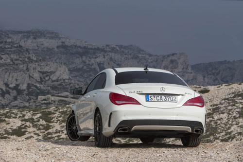 Mercedes Benz, CLA 250, 4matic, Sport, DCT, Zirrus-Weiss, Fahrveranstaltung St.Tropez 2013, AMG Design