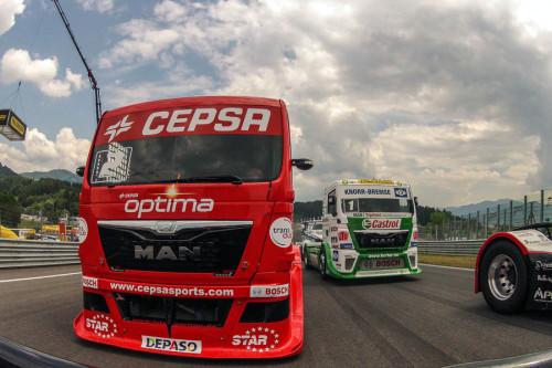 04 Campeonato Europeo de camiones AUSTRIA  julio 2013