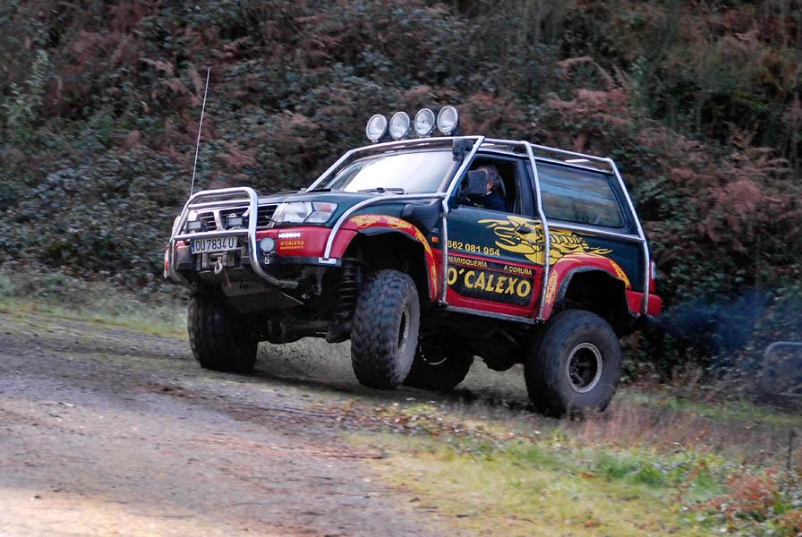4x4 preparacion nissan patrol gr: