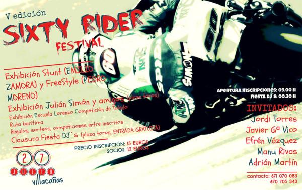 V Sixty Rider Festival 2013. Todos con Julito Simón