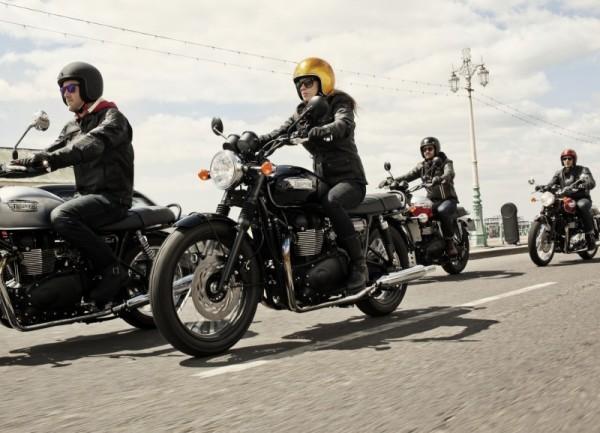 Triumph revive el vintage de alta tecnología y desvela su actualizada gama Classic para 2014