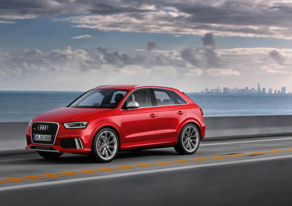 Audi RS Q3: el automóvil de serie más potente fabricado en España