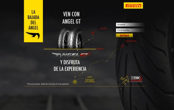 "Pirelli invita a sus clientes a descubrir ""La ruta del Ángel"""