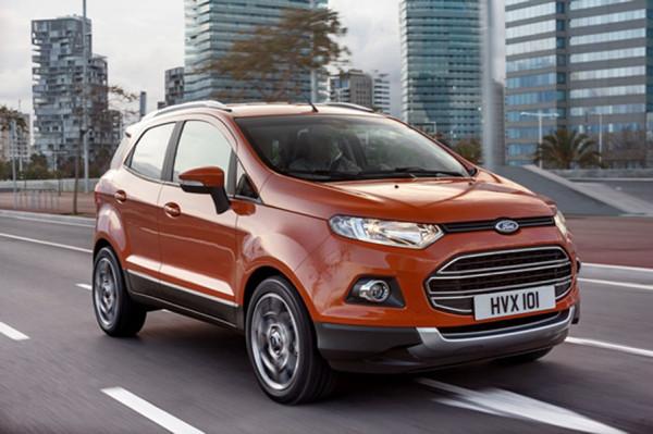 Ford Lanza una Edición Limitada del SUV EcoSport para Europa en Facebook